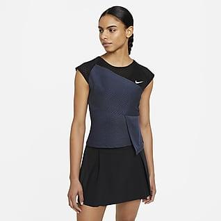 NikeCourt Dri-FIT ADV Slam Γυναικεία μπλούζα τένις