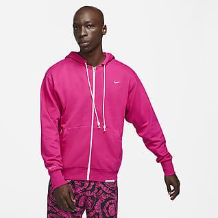 Nike Dri-FIT Standard Issue Sudadera con capucha de baloncesto con cremallera completa - Hombre