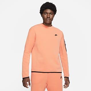Nike Sportswear Tech Fleece Shirt met ronde hals en gewassen look voor heren