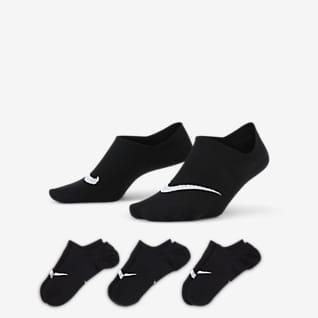 Nike Everyday Plus Lightweight Γυναικείες κάλτσες προπόνησης (3 ζευγάρια)