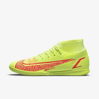 Nike Mercurial Superfly 8 Club IC Fußballschuh für Hallen- und Hartplätze