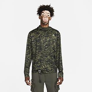 "Nike ACG Dri-FIT UV ""Lava Tree"" Sudadera con gorro de manga larga estampada para hombre"