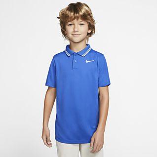 Nike Dri-FIT Victory Golfpolo til drenge