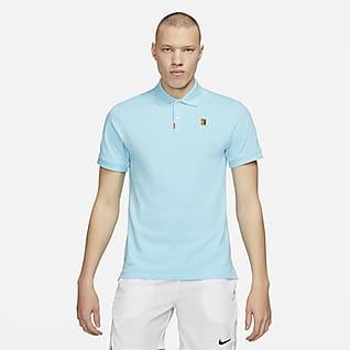 The Nike Polo Męska dopasowana koszulka polo