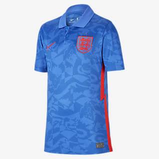 Inglaterra de visitante Stadium 2020 Camiseta de fútbol para niños talla grande