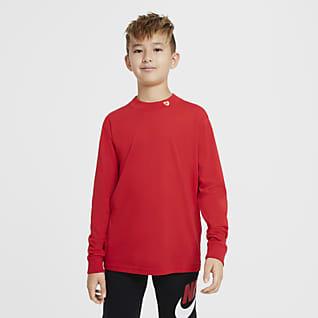 Nike Sportswear T-shirt z długim rękawem dla dużych dzieci