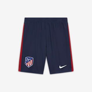 Atlético de Madrid 2020/21 Stadyum İç Saha/Deplasman Genç Çocuk Futbol Şortu