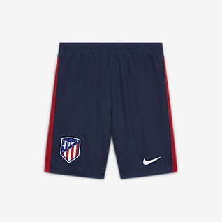 Atlético de Madrid 2020/21 Stadium Home/Away Older Kids' Football Shorts