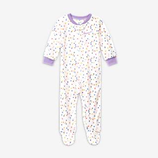 Nike Baby (0-9M) Full-Zip Printed Coverall