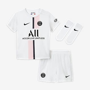 Paris Saint-Germain 2021/22 Away Baby & Toddler Football Kit