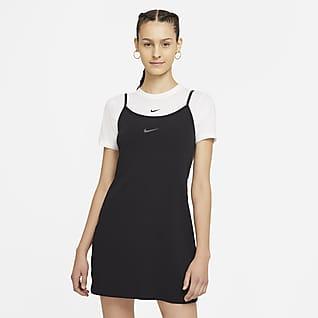 Nike Sportswear Damska sukienka z lampasami