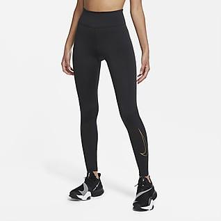 Nike One Icon Clash Tights til kvinder