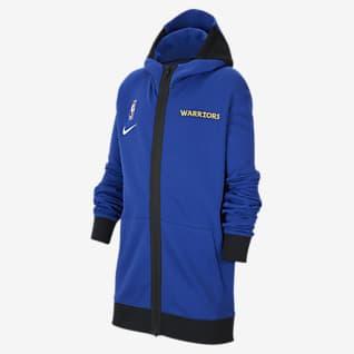 Golden State Warriors Showtime Nike Therma Flex NBA-hoodie voor kids