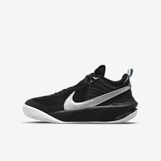 Nike Team Hustle D 10 Chaussure de basketball pour Enfant plus âgé