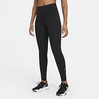 Nike Dri-FIT One Leggings med medelhög midja för kvinnor