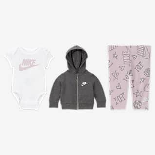 Nike Conjunto de 3 piezas para bebé (de 0 a 9 meses)