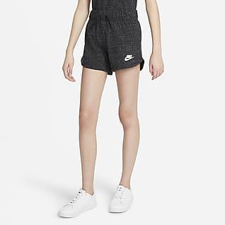 Nike Sportswear Shorts i jersey för ungdom (tjejer)