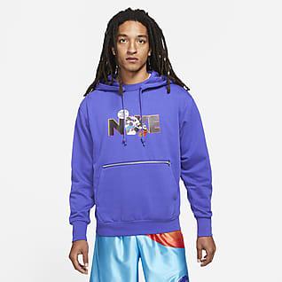 Nike Dri-FIT Standard Issue x Space Jam: A New Legacy Erkek Kapüşonlu Basketbol Sweatshirt'ü