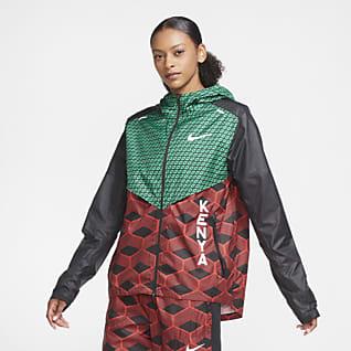 Nike Team Kenya Shieldrunner Løbejakke