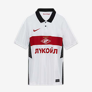 Spartak Moscow 2020/21 Stadium Away Older Kids' Football Shirt