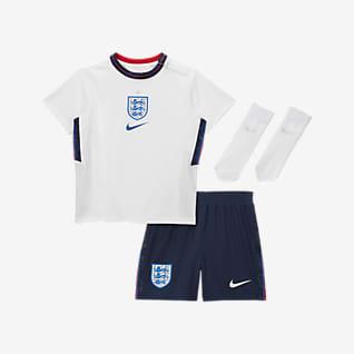 Домашняя форма сборной Англии 2020 Футбольный комплект для малышей