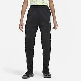 Nike Therma Academy Pantalones de fútbol para niños talla grande