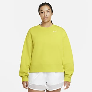 Nike Sportswear Essential Damesshirt met ronde hals (grote maten)
