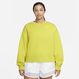 Nike Sportswear Essential Kerek nyakkivágású női pulóver (plus size méret)