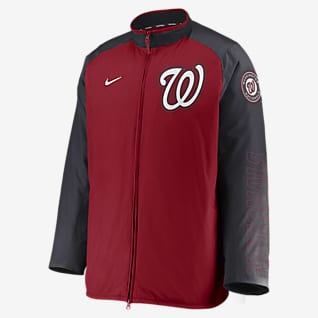 Nike Dugout (MLB Washington Nationals) Men's Full-Zip Jacket
