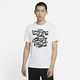 "LeBron ""Strive For Greatness"" 男子篮球T恤"
