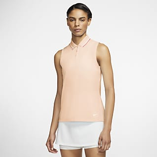 Nike Dri-FIT Victory Polo de golf sans manches pour Femme