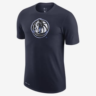 Dallas Mavericks Earned Edition Men's Nike Dri-FIT NBA Logo T-Shirt