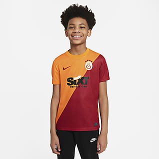 Galatasaray Home Older Kids' Short-Sleeve Football Top