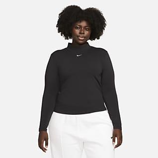 Nike Sportswear Collection Essentials Maglia a manica lunga con collo a lupetto - Donna