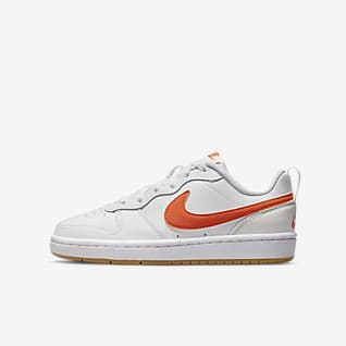 Nike Court Borough Low 2 Big Kids' Shoes