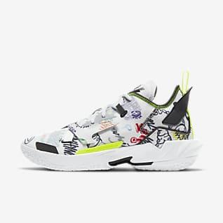 """Ανδρικό παπούτσι μπάσκετ Jordan """"Why Not?"""" Zer0.4 Παπούτσι μπάσκετ"""
