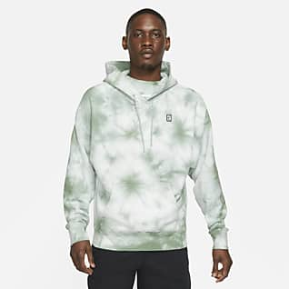 NikeCourt Men's Fleece Tie-Dye Tennis Hoodie