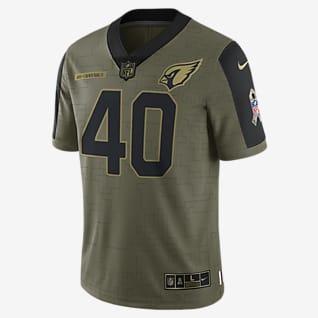 NFL Arizona Cardinals Salute to Service (Pat Tillman) Jersey de fútbol americano edición limitada para hombre