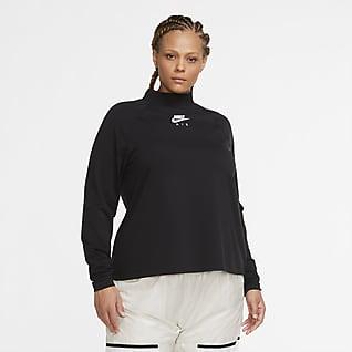 Nike Air Camiseta de manga larga (Talla grande) - Mujer