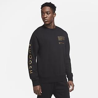 Nike Sportswear Swoosh T-skjorte med rund hals til herre