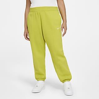 Nike Sportswear Trend Calças de lã cardada para mulher (tamanhos grandes)