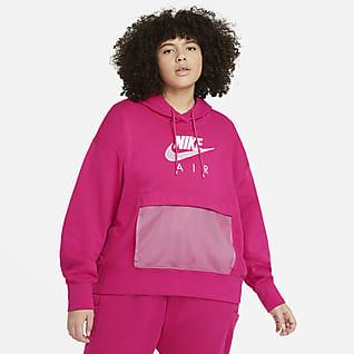 Nike Air Kadın Kapüşonlu Üst (Büyük Beden)