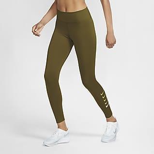 Nike Swoosh Run Damskie legginsy 7/8 do biegania