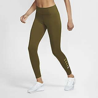 Nike Swoosh Run 7/8-hardlooptights voor dames