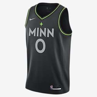 Minnesota Timberwolves City Edition Nike NBA Swingman Jersey