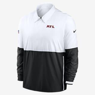 Nike Coach (NFL Atlanta Falcons) Men's 1/2-Zip Jacket
