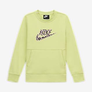 Nike Sportswear Meisjesshirt met ronde hals