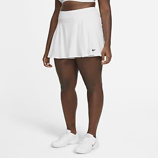 NikeCourt Victory Tenniskjol för kvinnor (Plus size)