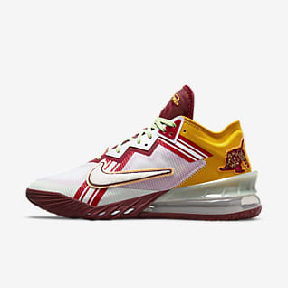 """LeBron 18 Low x Mimi Plange """"Higher Learning"""" Παπούτσια μπάσκετ"""