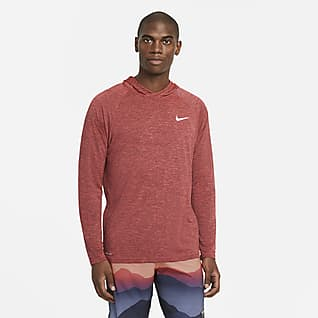 Nike Men's Long-Sleeve Hooded Hydroguard Swim Shirt